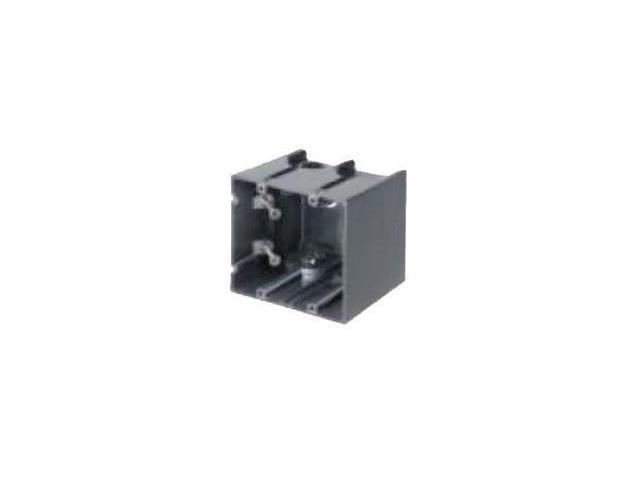 Arlington F102 2 Gang Vertical One Box™ Non-Metallic Outlet Box