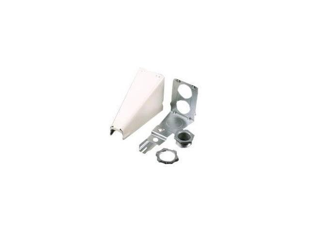 Wiremold V5786 500/700 Adjustable Offset Connector Fitting, Ivory