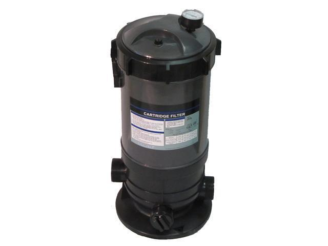 Cartridge Filter System with Pressure Gauge for Swimming Pools 60SF