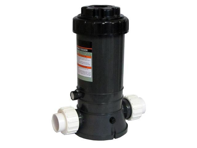 New Automatic Chlorinator for Swimming Pools In-Line 9 Lbs with Union Fittings