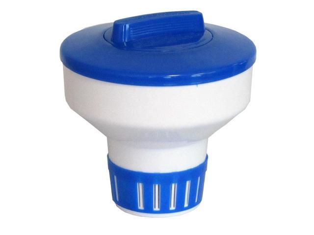Floating Chlorine Bromine Dispenser for Swimming Pools 7 inch - Collapsible