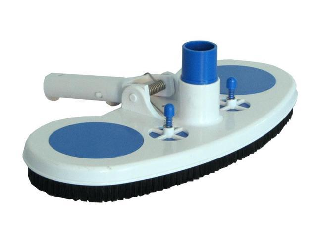 Swimming Pool Vacuum Head with Air Relief Valves and Spring Handle