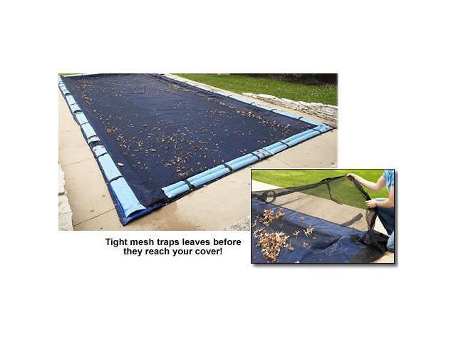 Pool Leaf Net Inground 16X32 Ft Rectangle Swimming Pool