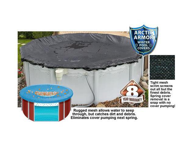 Winter Mesh Pool Cover Above Ground 18 Ft Round Swimming Pool