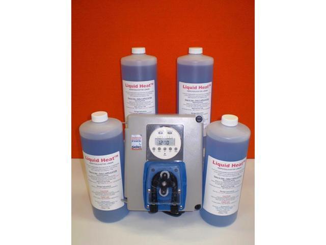 Liquid Solar Blanket Starter Kit - 4 X 1 Litre & Chemical Pump