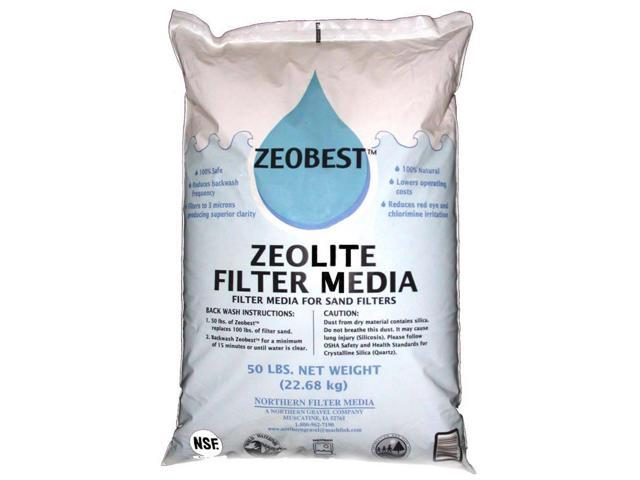 Zeobest Filter Media Alternative for Sand Filters 50 pounds