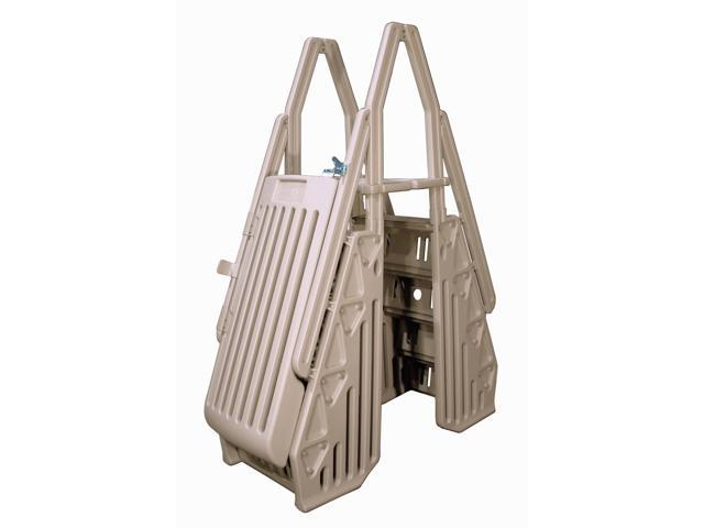 NEPTUNE A-FRAME SWIMMING POOL ENTRY SYSTEM - TAUPE