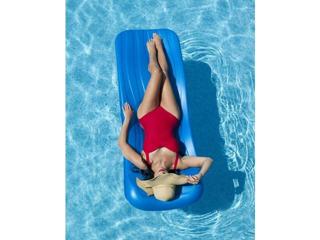 AQUARIA Cool Pool Float for swimming pools - Blue 72