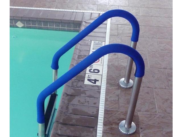 8 Ft Rail Grip - Blue for Swimming Pool Handrail