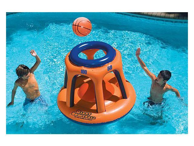 Giant Shootball - Inflatable Floating Basketball for Swimming Pool