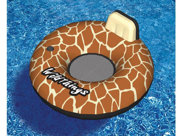 Swimline Wildthings Giraffe Inflatable Lounger for Swimming Pool
