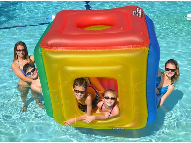 The Cube Inflatable Floating Habitat for Swimming Pool