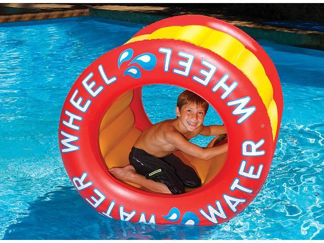 The Inflatable Water Wheel for Swimming Pool