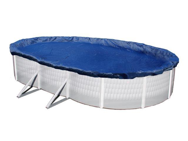 Winter Pool Cover Above Ground 16X28 Oval Arctic Armor 15 Yr Warranty w/ Clips