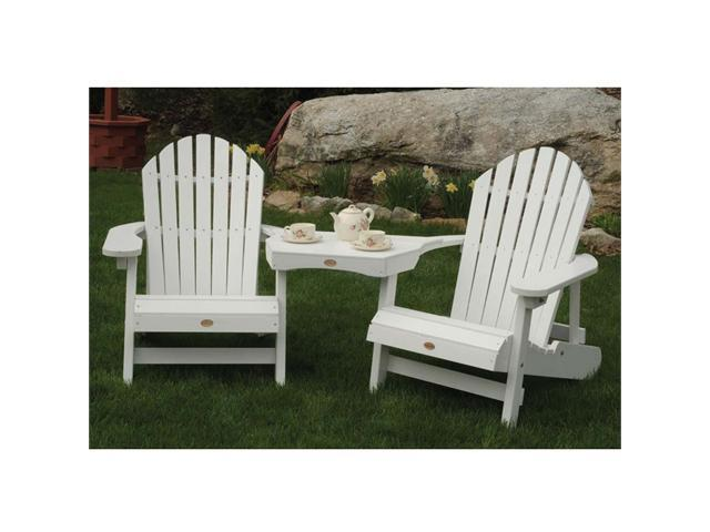 Highwood USA Adirondack Tete-a-Tete connecting table
