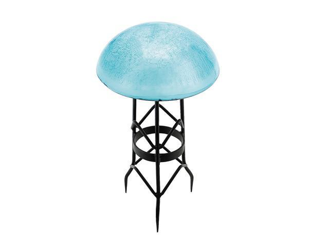 Toad Stool - Teal - Crackle