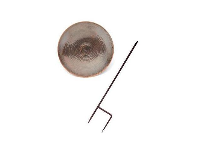 Achla Designs Burnt Copper Bird Bath With Stand