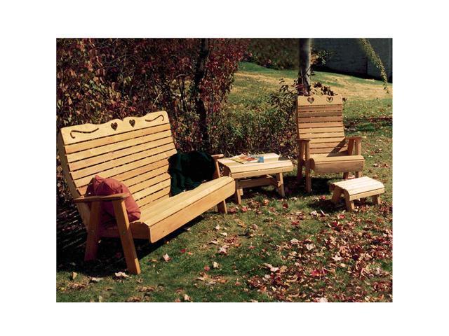 Creekvine Designs Cedar Country Hearts Patio Group