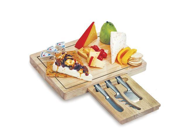 Picnic Plus Arezzo Cheese Board-Wood