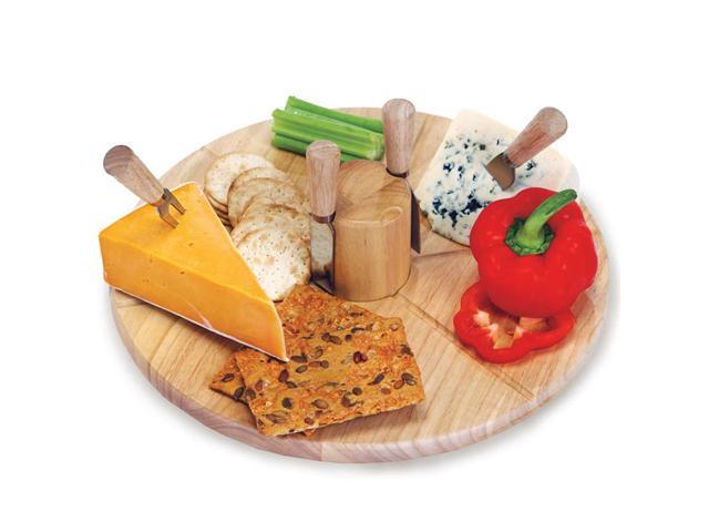 Picnic Plus Salerno Cheese Board-Wood