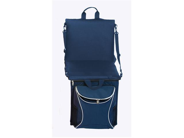 Picnic Plus Stadium Seat Cooler-Navy