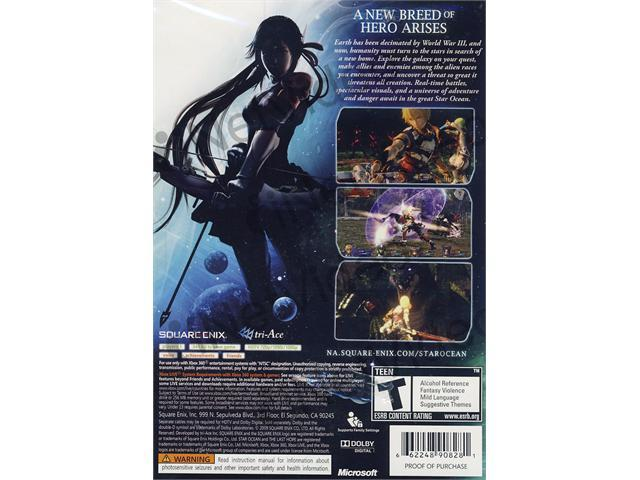 Star Ocean - The Last Hope Xbox360 New