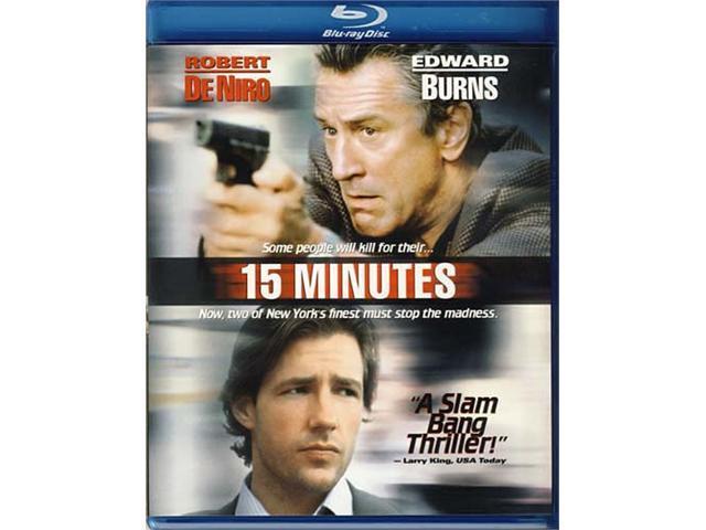 15 Minutes (Blu-ray) Blu-Ray New