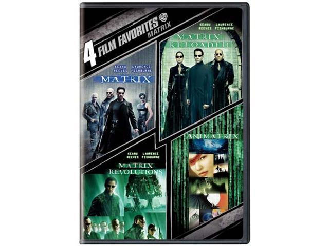 The Matrix Collection: 4 Film Favorites (DVD / WS) Keanu Reeves, Laurence Fishburne, Carrie-Anne Moss, Hugo Weaving, Joe Pantoliano