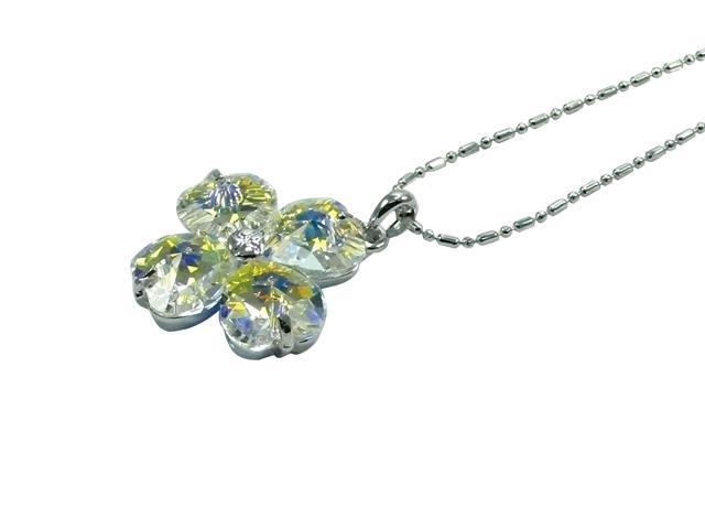 "<Just Perfect> Swarovski Crystal ""Serendipity"" Pendant. 16"""