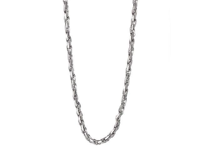 <Just Shine>316L Stainless Steel Men's 23 Inch Chain
