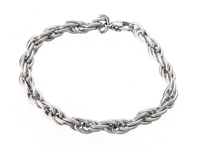 <Just Shine>316L Stainless Steel Cannabis-type Men's Bracelet