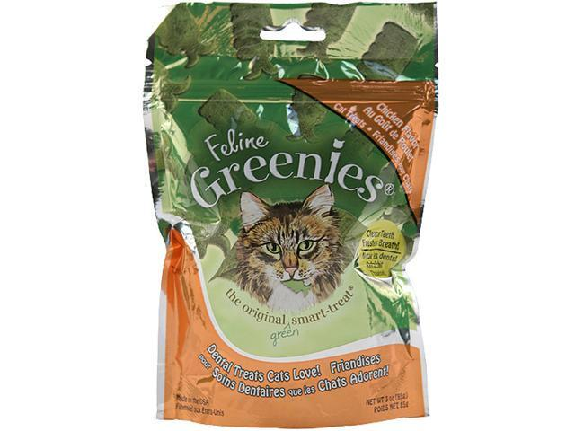 Feline Greenies Dental Treats, Chicken Flavor, 6 Pack