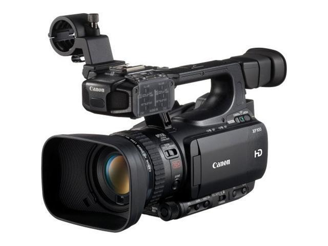 Canon XF100 Professional Camcorder with 10x HD Video lens, Compact Flash (CF) Recording 4888B001
