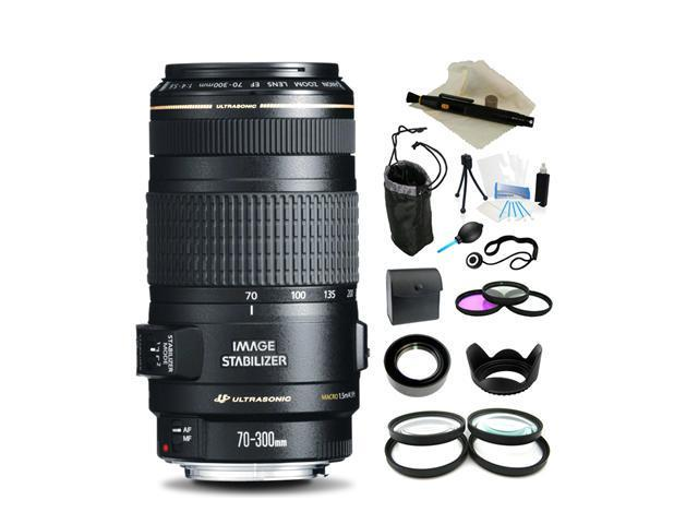 Canon EF 70-300mm f/4-5.6 IS USM Lens, Everything You Need Kit, 0345B002