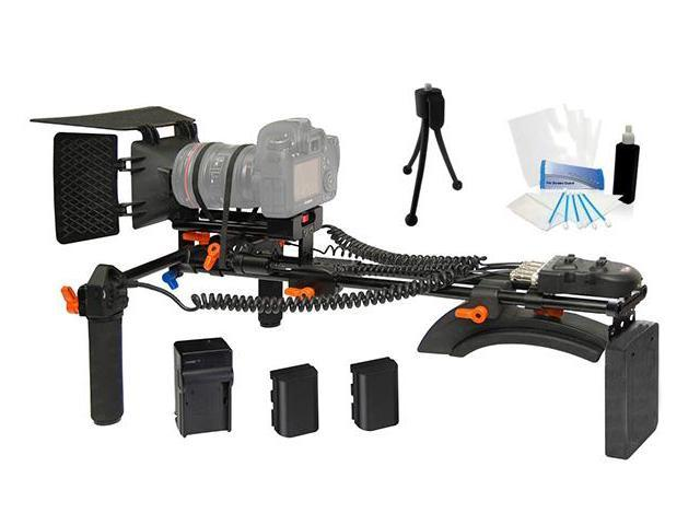 DSLR Digital Camera Shoulder Rig for Sony Alpha A330 A350 A380 A100 A200 A230