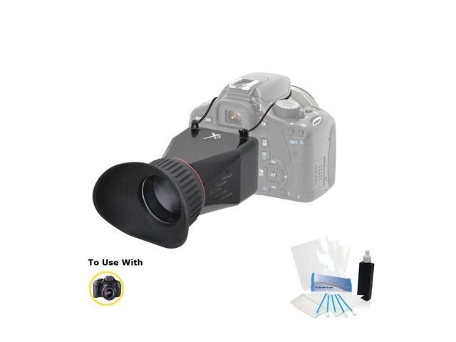 Professional Adjustable LCD Viewfinder for Canon EOS Rebel T5i 100D SL1