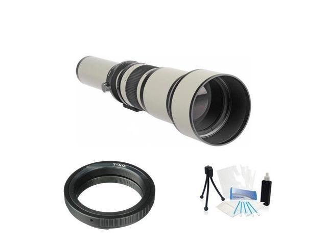 High Resolution Digital Zoom Lens 650-1300mm F8.0 for Nikon D5200 D40 D40X