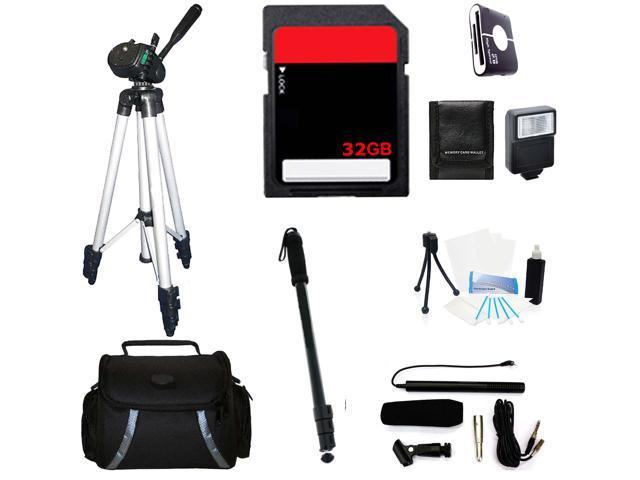 Professional Accessories Kit For Fujifilm X-T1 Mirrorless Digital Camera