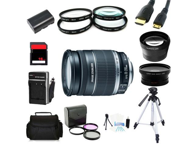 Advanced Shooter Kit for the Canon 5D MARKIII includes: EF-S 18-200mm IS+MORE..
