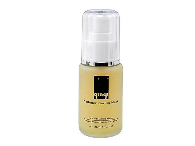 Gingi Collagen Serum Mask Rejuvenating Cellular Revitalizing System (All Skin Type) 1.7 fl. Oz. 50ml