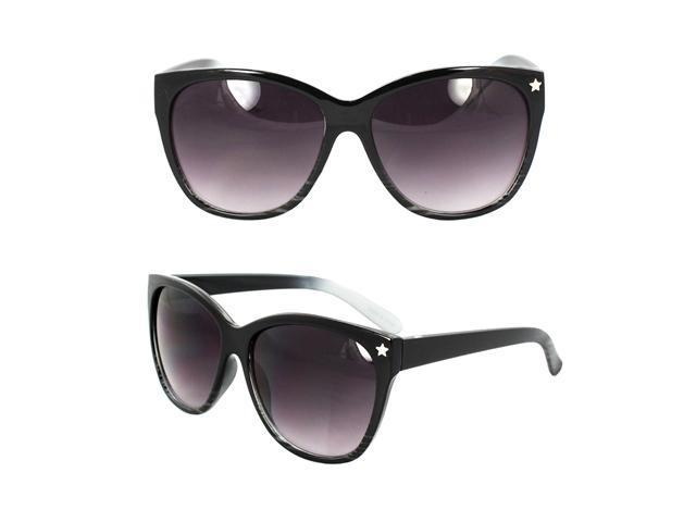 Vogue Eyeglass Frames Black And White : MLC Eyewear Wayfarer Fashion Fashion Sunglasses Black and ...