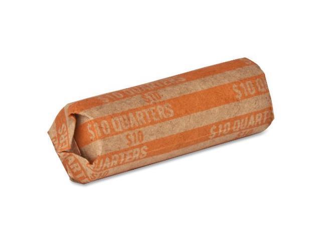 Coin Wrapper 60 lb. Quarters 10.00 1000/BX Orange