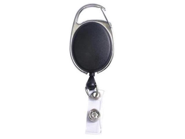 Clip ID Badge Reel Caribiner Style 30