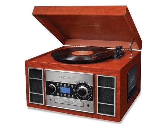 Crosley Radio CR2413A-PA Memory Master II CD Recorder/USB (Paprika)