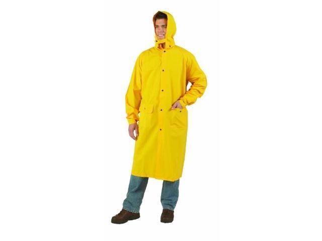 Texsport 33405 Raincoat - XX-Large Size - PVC - 6/Case - Yellow