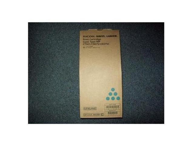 Ricoh 841358 Toner Cartridge - Cyan