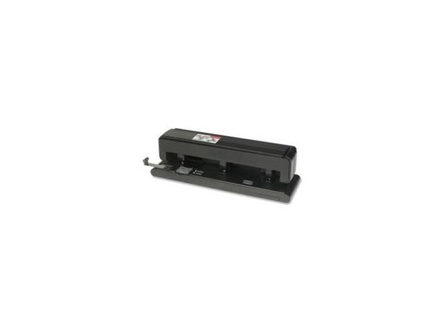Hole Punch 2-3 Holes 40 Sh Capacity Black