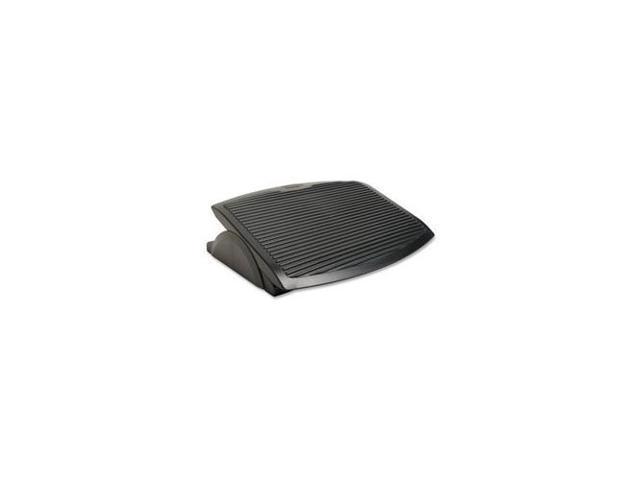Business Source BSN62880 Rocking Footrest- 17-.75in.x13-.88in.x3in.- Black