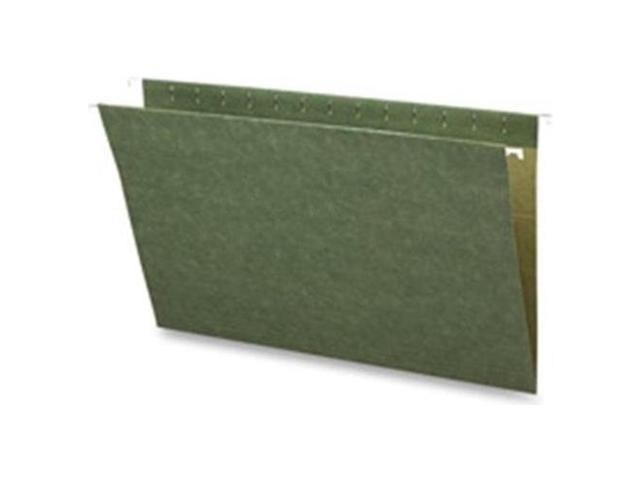 Hanging Folders w/o Tabs Legal 25/BX Green