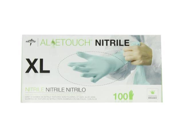 Nitrile Exam Gloves Powder Free X-Large 100/BX GN